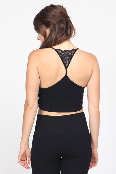 Lace Back Bralette
