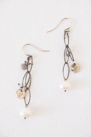 Chan Luu Mix Pearl Earrings
