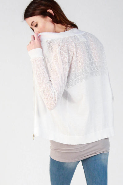 Sarah Lace Crochet Jacket