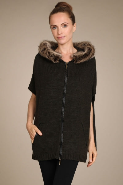 Juliette Hooded Poncho