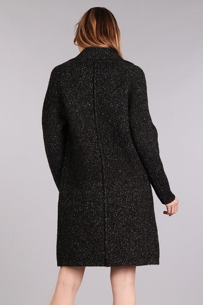 Collared Coat with Pockets