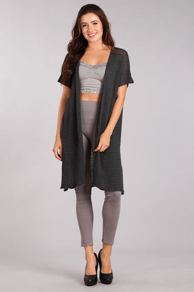 Maya Short Sleeve Duster