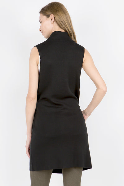 Shawna Sleeveless Wrap Vest