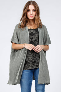 Wanderer Open Front Poncho