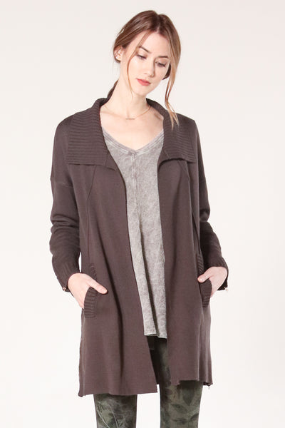Blair Zip-up Cardigan
