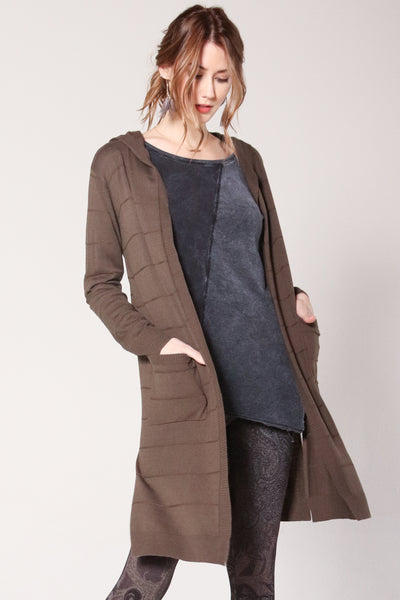 Essential Hooded Cardigan