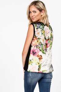 Flower Power Sleeveless Knit