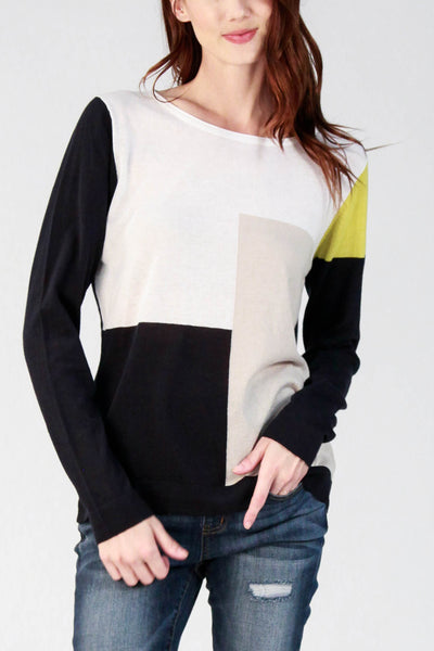 Lightweight Colorblock Pullover