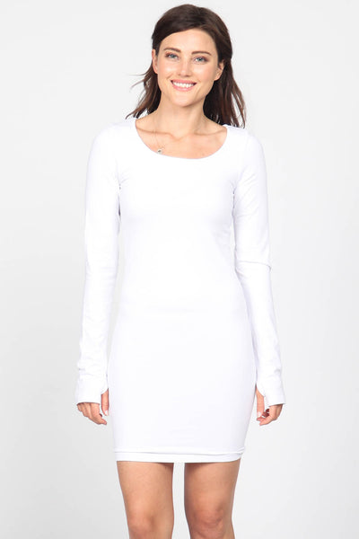 Long Sleeve Dress w/ Thumbholes