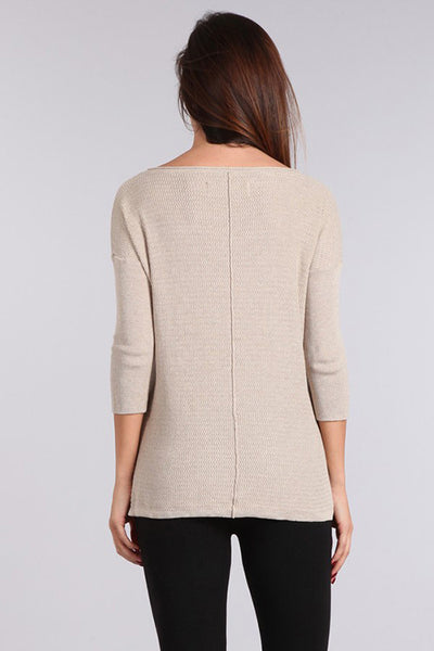 Francine Relaxed Knit Sweater