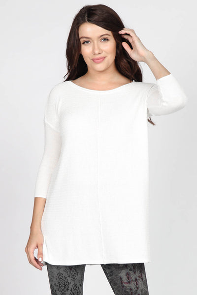 Grace Knit Tunic Sweater