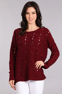 Spotted Heather Sweater