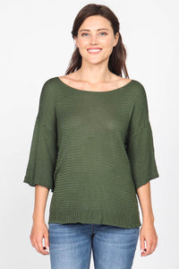 Knit Mixture Sweater Top