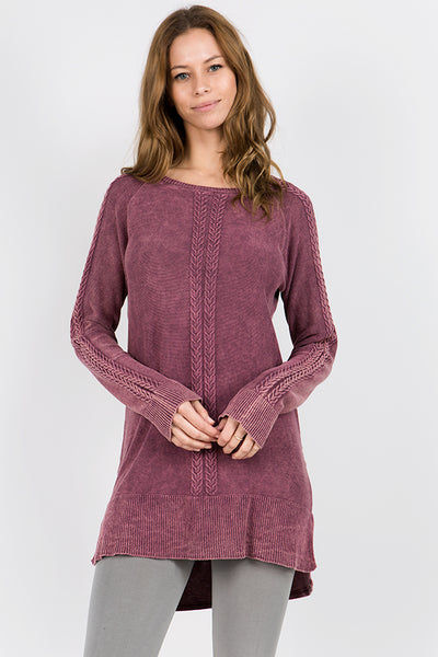 Amici Cableknit Pullover