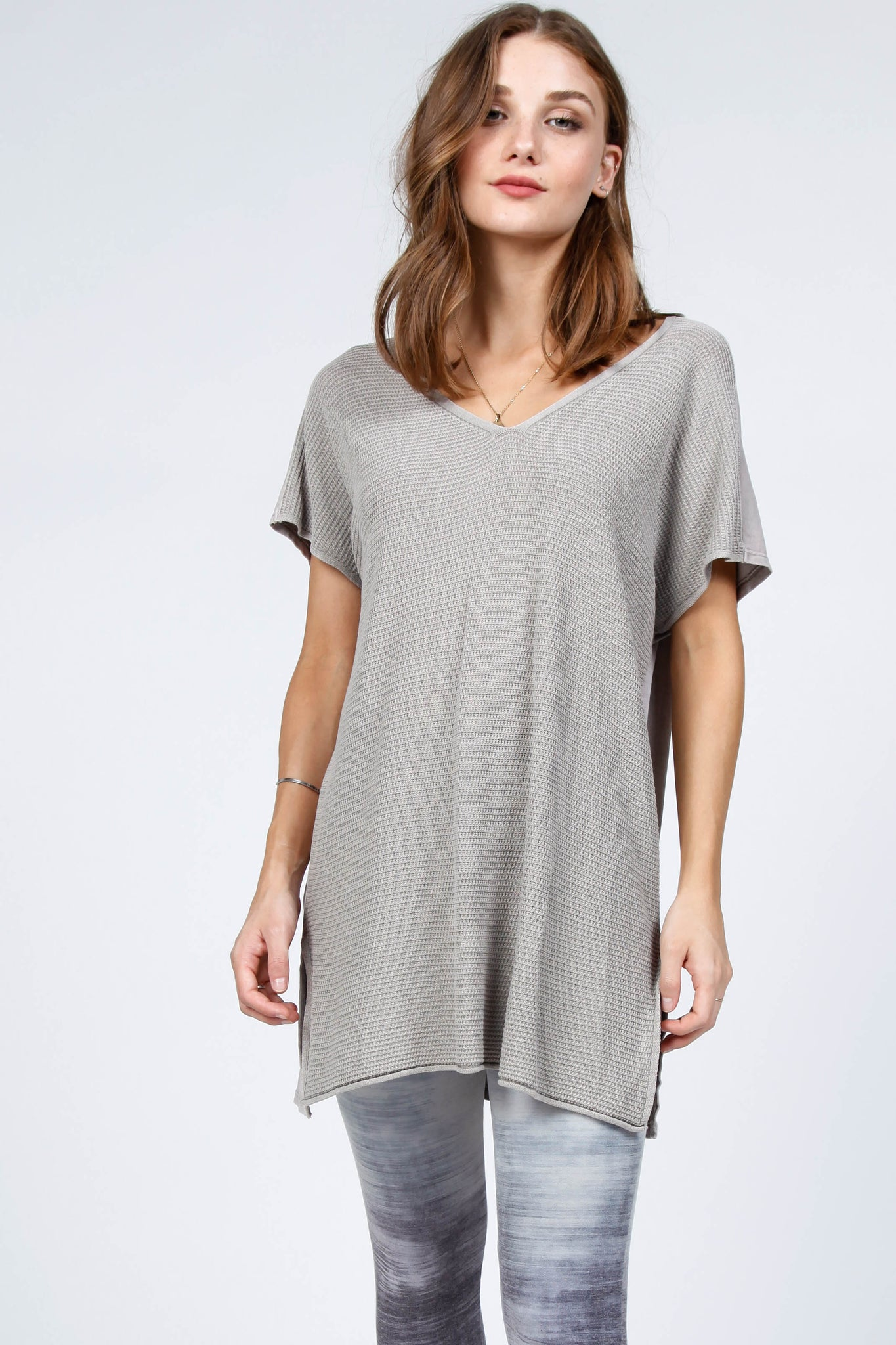 Harlow Knit V-Neck Top