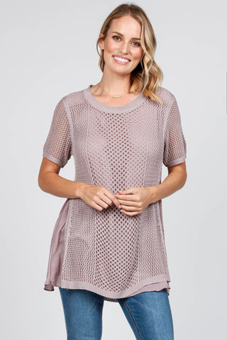 Willow Crochet Lace Top