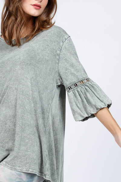 Day Dream Puff Sleeve Top