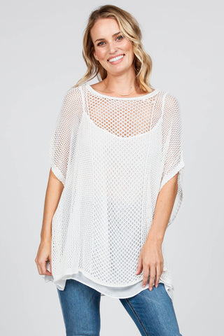 Willow Crochet Lace Poncho