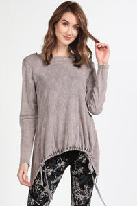 Two-fer Ruched Knit