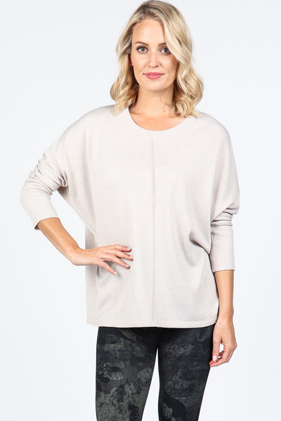 Easy Dolman Knit Pullover