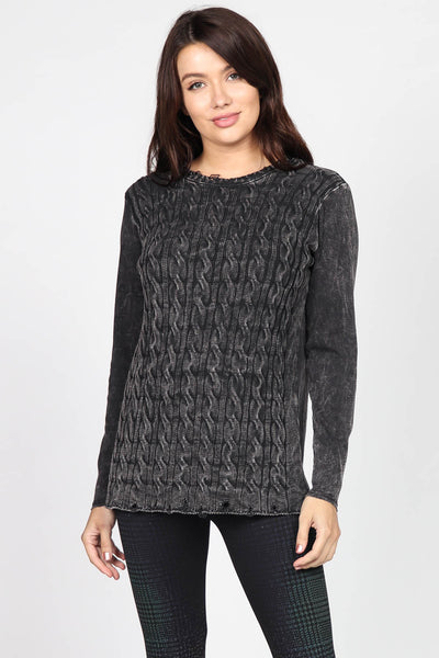 Bella Cable Knit Sweater
