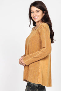 Olivia Mineral Wash Sweater