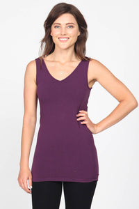 Reversible V-Scoop Neck Tank - Colors