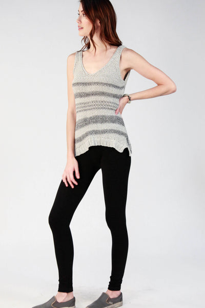 Stella Stripe Knit Wrap Top