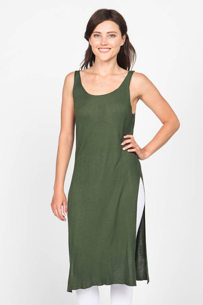 Longline Side Slit Tunic