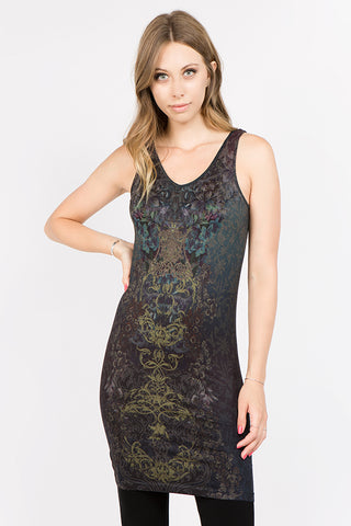 Pacific Mystique Printed Dress