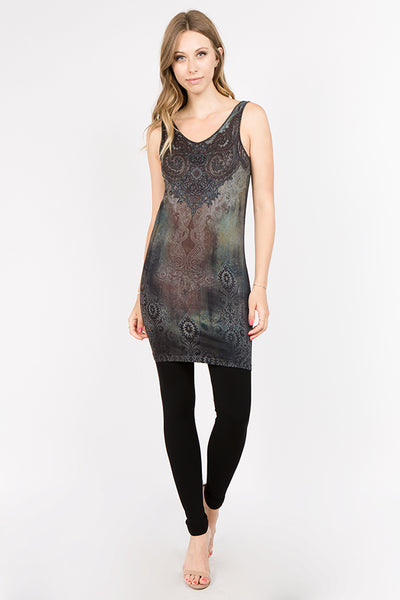 Nicola Paisley Printed Dress