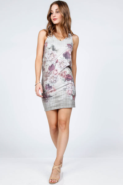 Bouquet Reversible Tank Dress