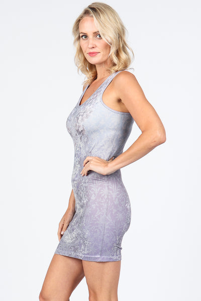 Lavender Love Tank Dress