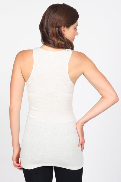 Cotton Rib Racerback Tank