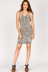 Elizabeth Jacquard Seamless Dress