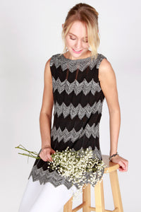 Missoni Patterned Sleeveless Knit