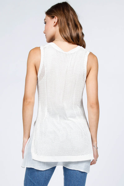 Willow Crochet Lace Tank