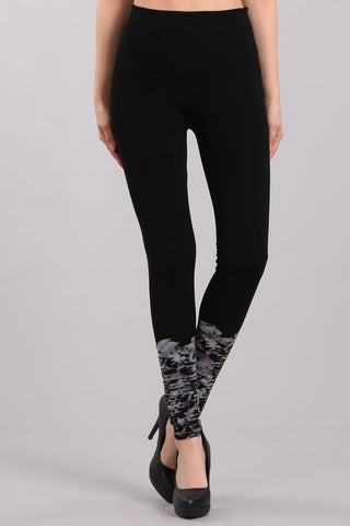 Renee Contrast Tie-Dye Leggings