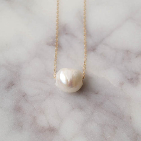 Kauai Ivory Pearl Necklace