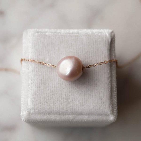 Kauai Pink Pearl Necklace