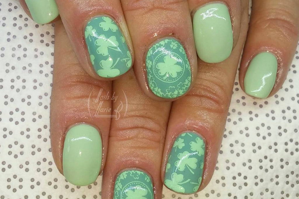 Celebrate St. Pat's with Shamrock Nail Stamping Plates