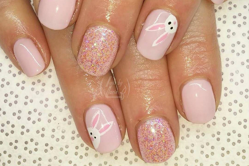 Pink Easter Nail Designs Blogs Workanyware Co Uk