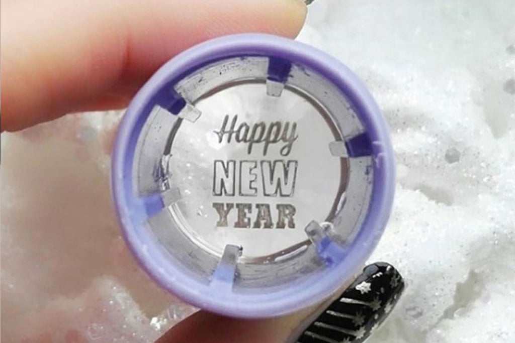 Ring in the New Year with Trendy Nail Stamping Plates