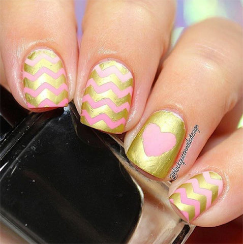 Wear Your Heart Nail Designs On Your Tips This Valentines Day