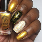 #3 All that Glitters - Nail Stamping Color (5 Free Formula)