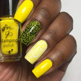 #8 You are my Sunshine - Nail Stamping Color (5 Free Formula)