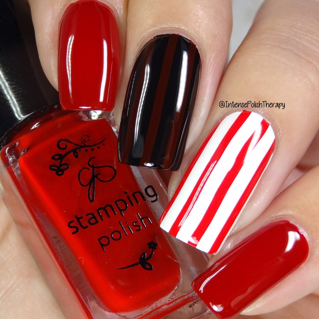 #9 REDy for Anything - Nail Stamping Color (5 Free Formula)