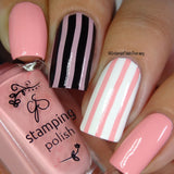#21 Bubble Pop Pink - Nail Stamping Color (5 Free Formula)