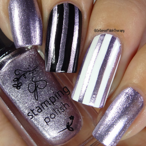 #35 Paulas Pixie Purple - Nail Stamping Color (5 Free Formula)
