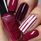 #40 Pass the Pinot - Nail Stamping Color (5 Free Formula)